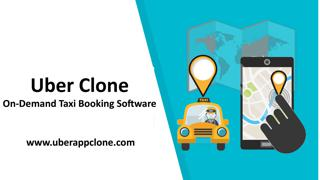 Uber Clone is one of the most outstanding taxi app solutions. They Provide the latest technologi ...