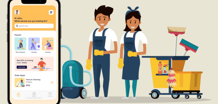 Uber for Maids – How to Build A House Cleaning Services App