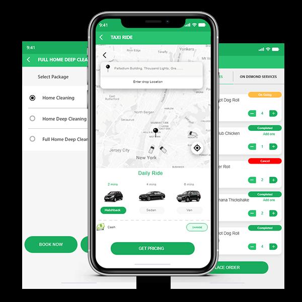 Uber For X Clone App   Uber For X Clone Script Development Solution  A successful businessman id ...