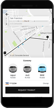Uber Like App Development | Taxi App Development Company People prefer travelling from one place ...