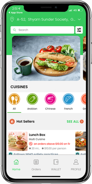 Launch Your Food Delivery App That Delivers Food At The Doorstep