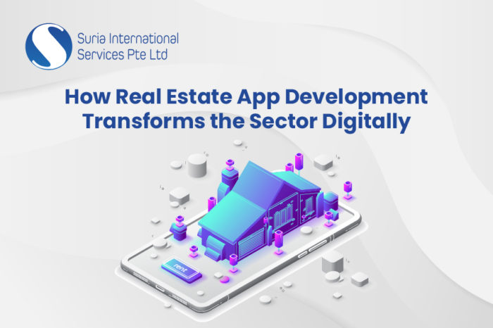 How Real Estate App Development Transforms The Sector Digitally