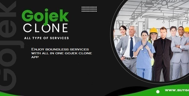 Enjoy boundless services with all in one gojek clone app