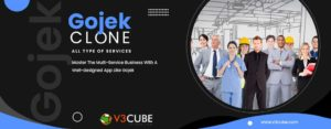 Accelerate Your Multi-service Business With Gojek Clone App – V3cube Reviews