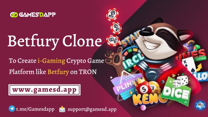Betfury Clone Script    Build i-Gaming Tron Platform like Betfury