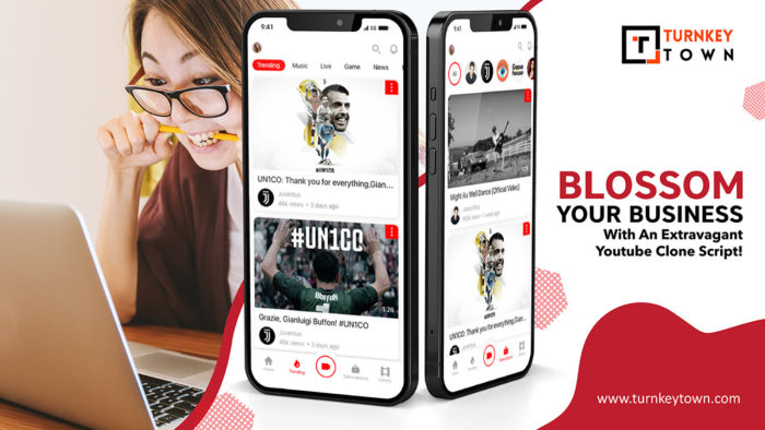 Youtube Clone -Thrive your business by getting hold of the trend!