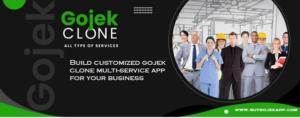 Build customized gojek clone multi-service app for your business