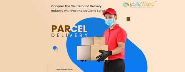 Create The Next Big On-Demand Delivery Services With Postmates Clone
