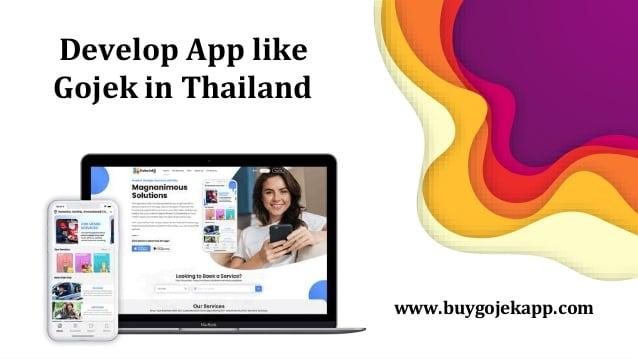 Develop App like Gojek in Thailand