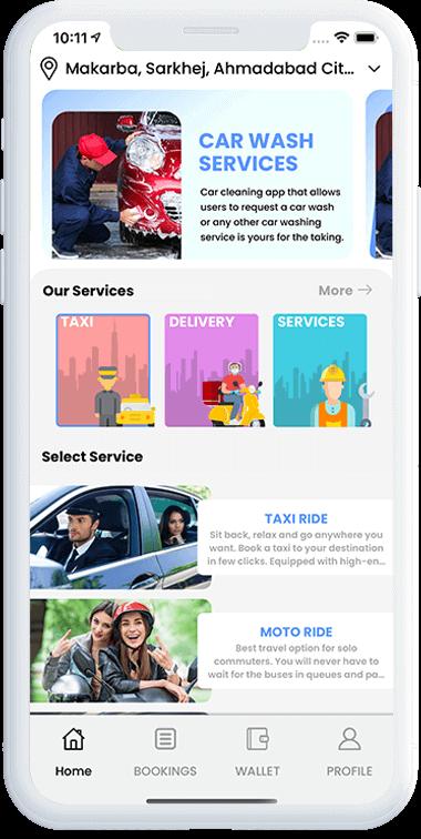 Develop Gojek Clone App For Multi-Service Business