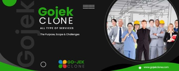 Gojek Clone Script – The Purpose, Scope & Challenges