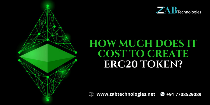 How Much Does it Cost to Create ERC20 Token?   Token Creation Services