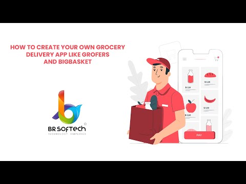 How to Create Your Own Grocery Delivery App like Grofers and Bigbasket – YouTube