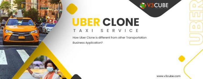How Uber Clone is different from other Transportation Business Application?  This blog explains  ...