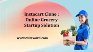 Instacart Clone : Online Grocery Startup Solution