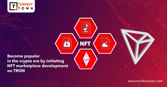 Know more about the rapid growth of the TRON blockchain network, examples of NFT marketplaces, t ...