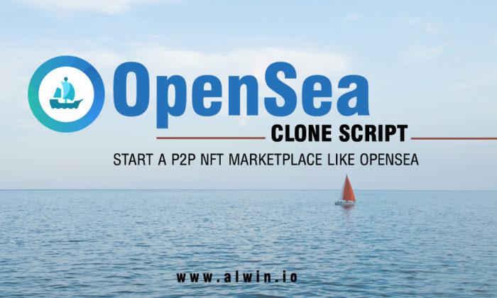 Opensea Clone Script | Build NFT Marketplace Website Like Opensea