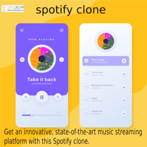 A ready-made Spotify app clone is a replication of the concept of the music streaming service ap ...