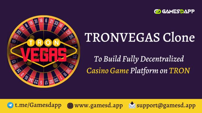 TronVegas Clone   Build Decentralized Casino Gaming like TronVegas