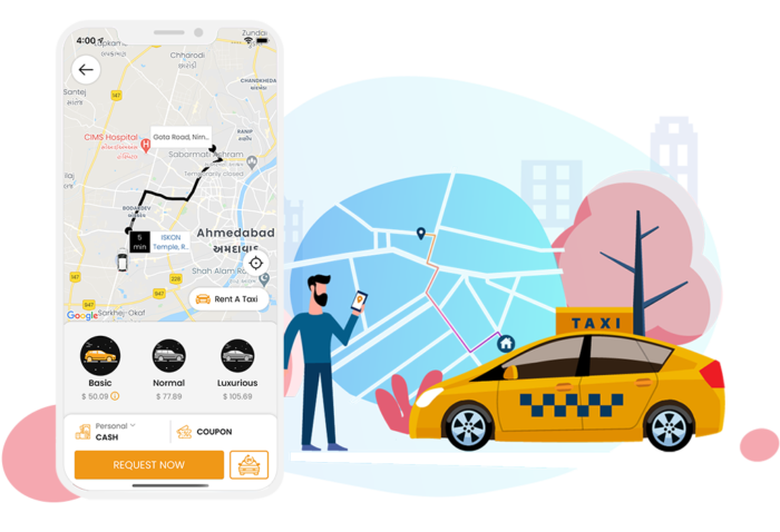 Uber Clone Script – Taxi Booking App Solution
