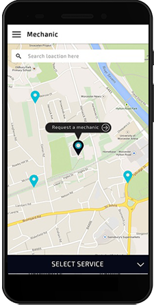 Launch A Fully Functional Uber For Mechanics App To Meet The Needs Of Your Users Serve the custo ...