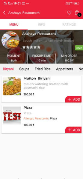 UberEats clone script |  Food delivery app like UberEats