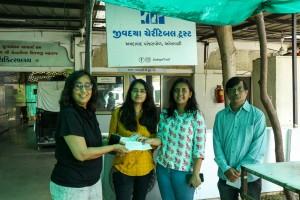 V3Cube App Development Company Donates Medical Equipments to Jivdaya Charitable Trust in India