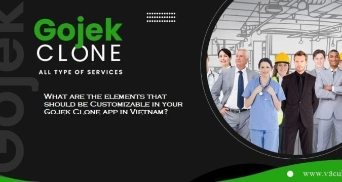 What are the elements that should be Customizable in your Gojek Clone app in Vietnam?