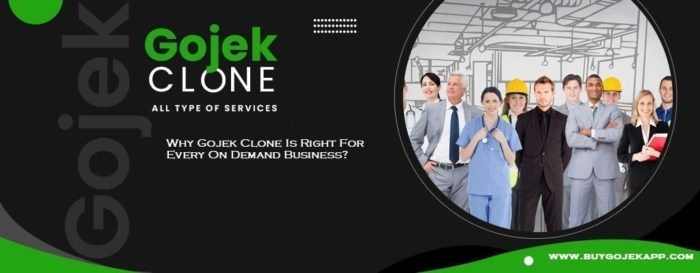 Why Gojek Clone Is Right For Every On Demand Business? – CWEB.com – Trending News, B ...