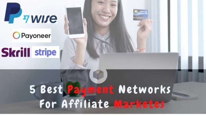 ⭐️⭐️⭐️⭐️⭐️ 5 Best #PaymentNetworks for affiliate marketers online earning💸  Let's see the 5 best ...