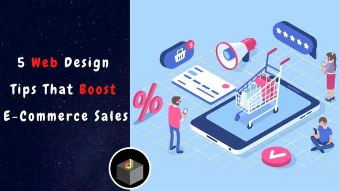 🚀  #WebsiteDesign tips that can boost #eCommerce sales 🔥   Here are 5 tips for boosting #ecommer ...