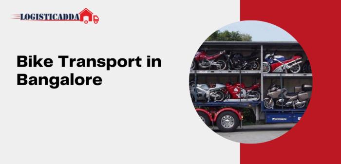Bike Transport in Bangalore | Bike Transportation | Bike Carrier Near Me