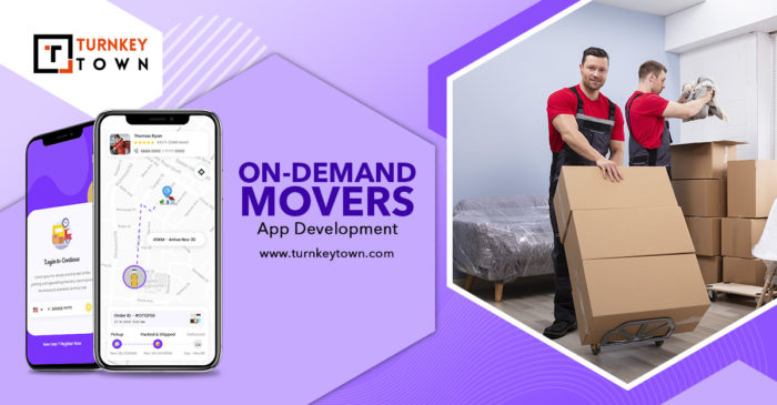 Discover The Best Service Provider By Launching Uber For Movers App Uber for movers app solution ...