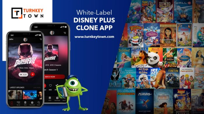 How can a white-label Disney plus clone app levitate your online business? Life without entertai ...