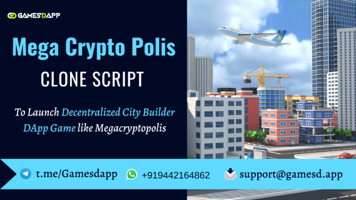 Megacryptopolis Clone Script | Launch a Decentralized City Builder DApp Game like Megacryptopolis