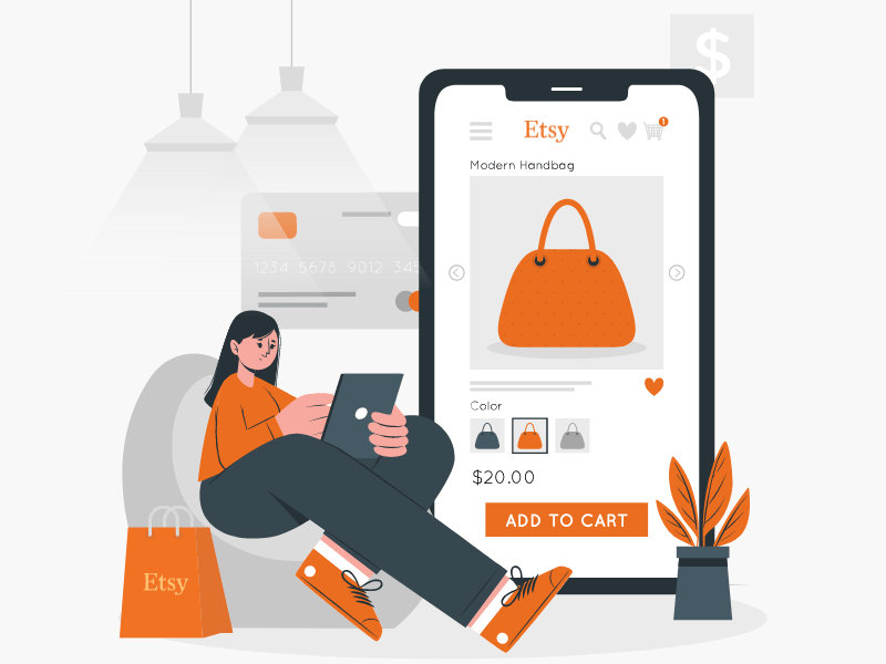 Roadmap To Develop A Shopping App Like Etsy Clone