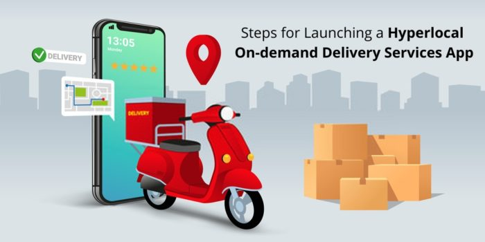 Steps for Launching a Hyperlocal On-Demand Delivery Services App