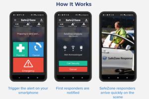 Emergency Alert App Development with a Portable Panic Button Case Study