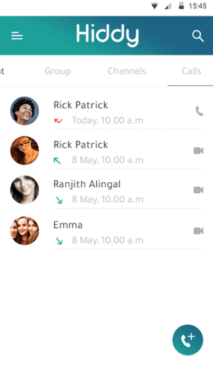 Eye popping whatsapp clone with latest features