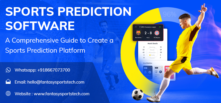 Sports Prediction Software- Guide to Create a Sports Prediction Platform  Are you looking for th ...