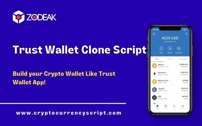 Trust Wallet Clone Script   Trustwallet Clone App Development