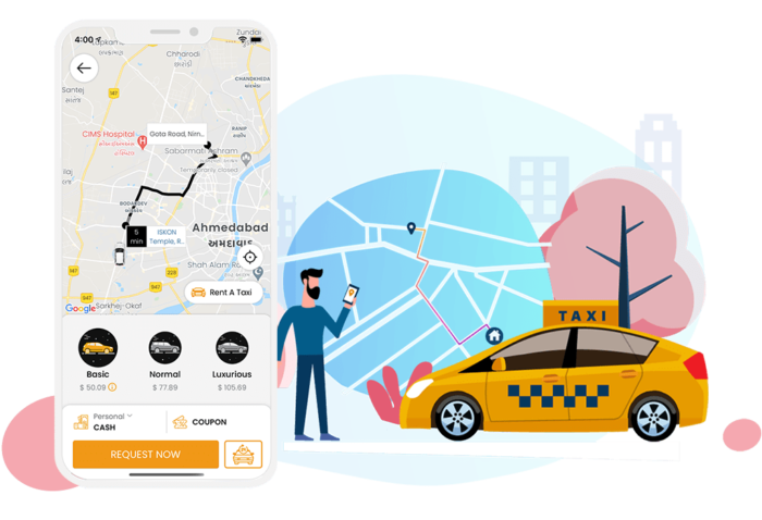 Uber Clone App: Seamless Taxi Booking Experience for your customers