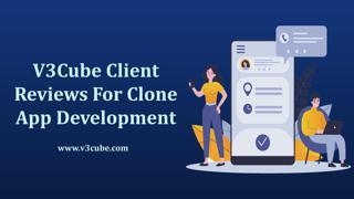 V3Cube Client Reviews For Clone App Development