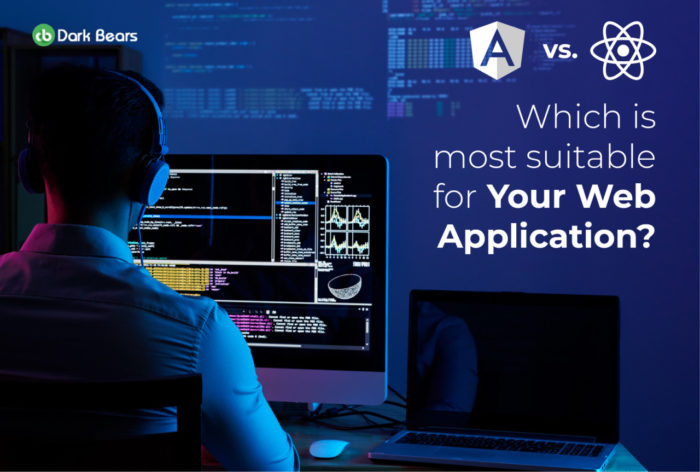 When it comes to web app development, two technologies pop up in mind: Angular Js and React JS.  ...