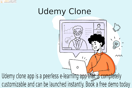 Udemy Clone Script is a pre-fabricated eLearning app solution, which will be similar to Udemy in ...