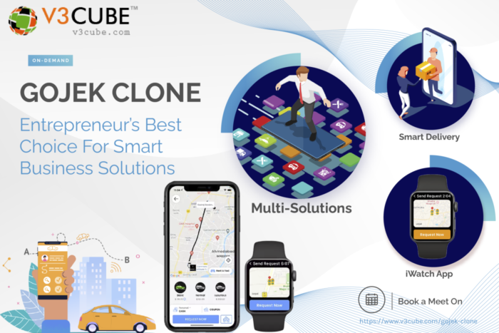 Gojek Clone App Makes It Easy To Handle Your Multiservices Business