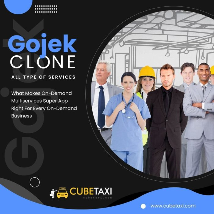 Gojek Clone – What Makes On-Demand Multiservices Super App CubeJekX2021 Right For Every On-Deman ...