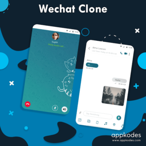 How much does it cost to develop a messaging app using a Wechat clone?