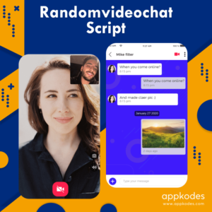 Utilize random video chat script for starting online video chat business app