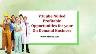 V3cube Nulled Script On Demand Business Solution